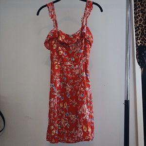 ASTR The Label floral mini dress